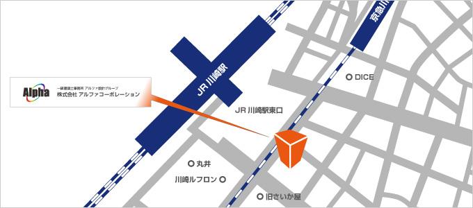 本店所在地地図