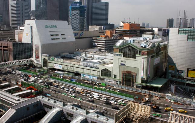 2000円~!大規模駅舎の意匠設計/新宿駅