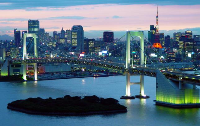 東京湾岸の巨大な都市プロジェクト
