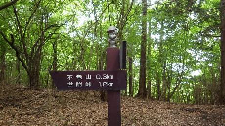 052不老山まで0.3k